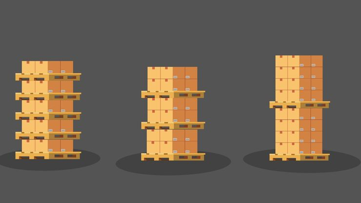 How High Can You Stack Pallets