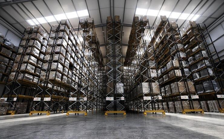 PalletOnline Warehouse Storage