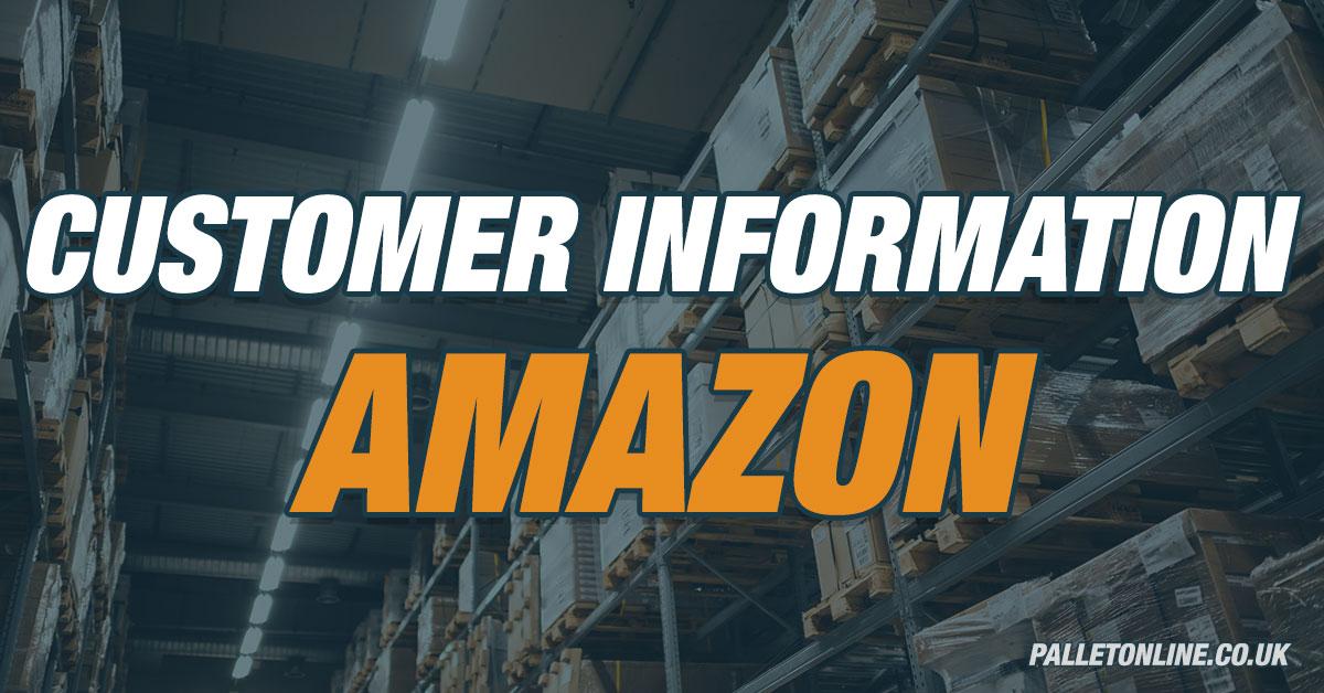 Customer Information - Amazon FBA Delays