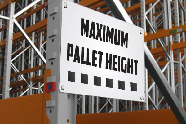 Amazon Pallet Delivery Max Height Limit