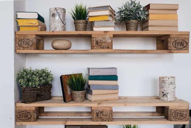 Pallet Board Shelf