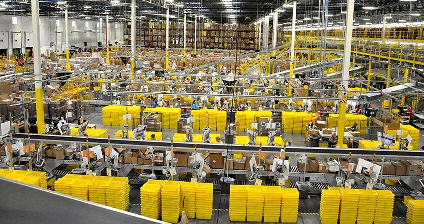 Amazon Fulfilment Centres