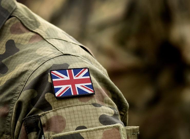 British Military On Standby