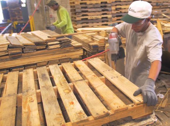 Repairing Wooden Pallets