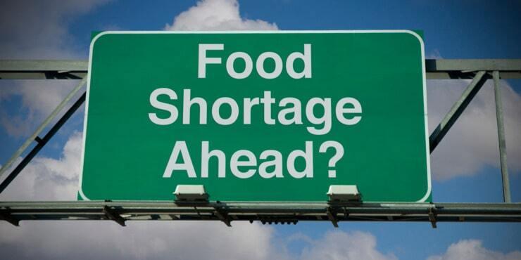 Upcoming Food Shortage