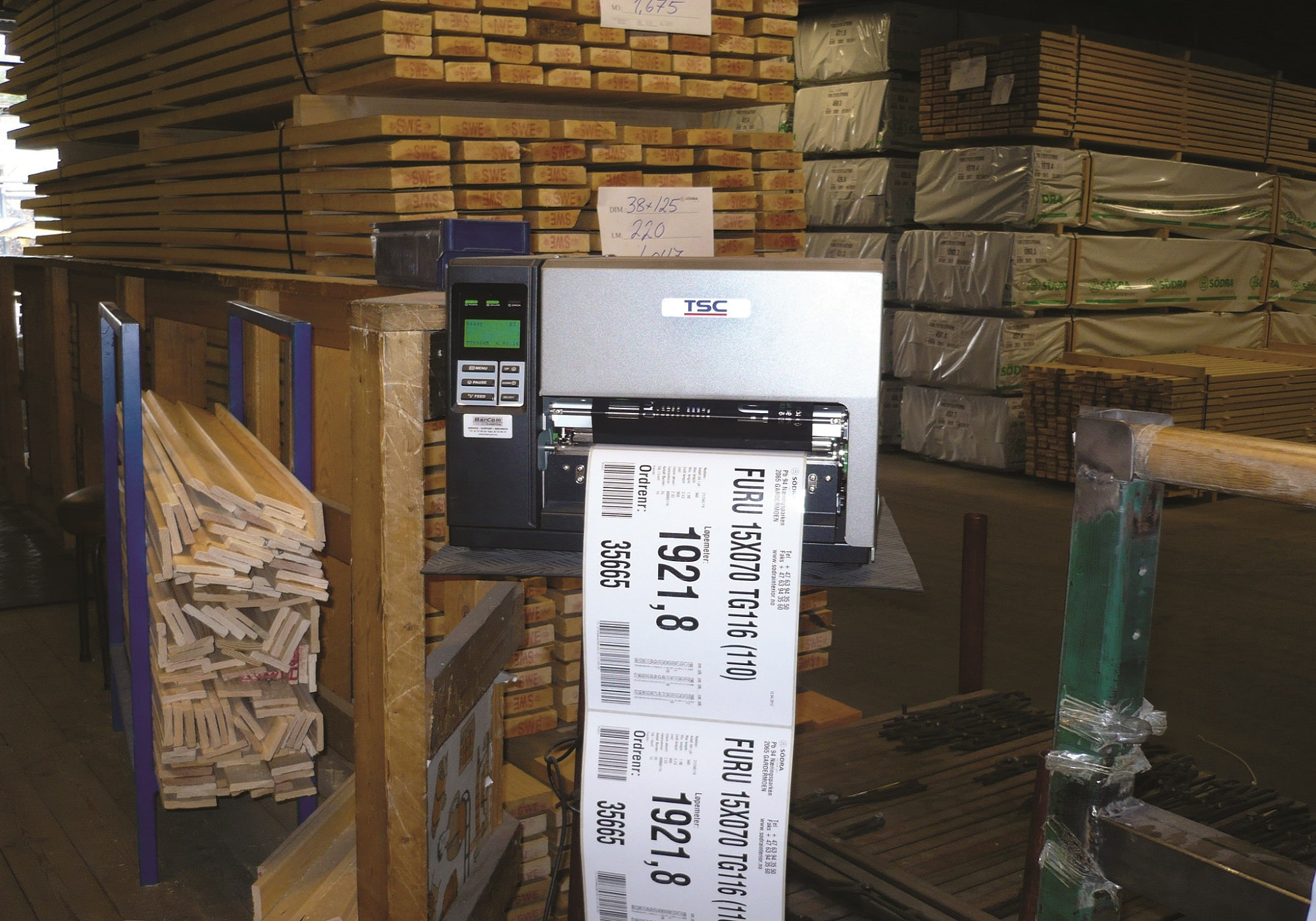 Purchase a Label Printer