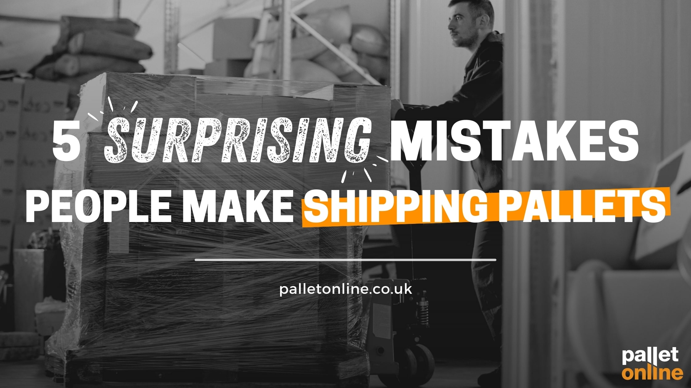 5 Surprising Mistakes People Make Shipping Pallets