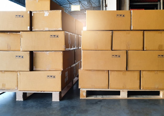 Maximising Pallet Space When Packing