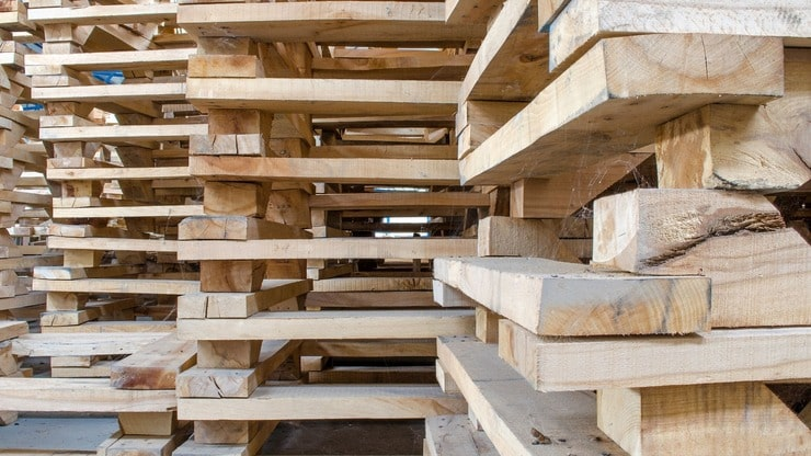 Types Of Wood Pallets Are Made Of