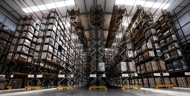 Browns Distribution Racking 2022